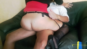 Hard sex alongside big ass amateur