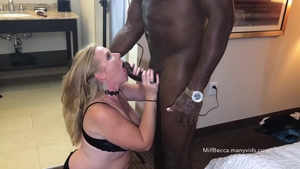 Huge boobs blonde babe helps with plowing hard in HD