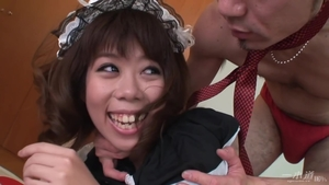 Japanese creampied in HD