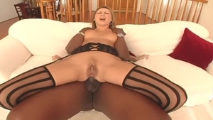 Mandy Bright anal interracial video