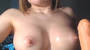 Solo perfect amateur fun with toys