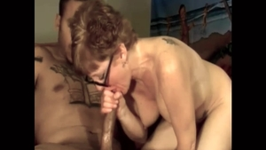 Passionate chick helps with hard nailining HD
