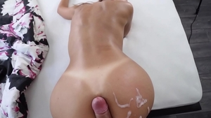 Sweet amateur riding big cock