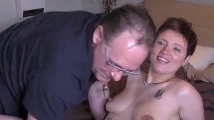 Young french mature has a soft spot for sucking cock HD