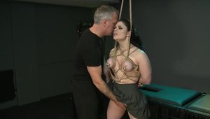 Huge boobs Lucia Love BDSM