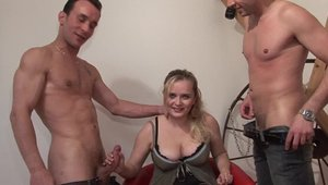 Huge boobs french babe has a taste for hard ramming in HD