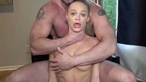 Loud sex with pretty blonde
