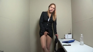 Very kinky blonde haired has a thing for orgasm in HD
