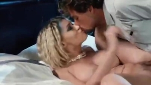 Blowjob cum accompanied by petite french blonde babe