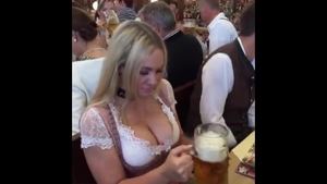Interracial fucking on the oktoberfest large boobs jamaican HD