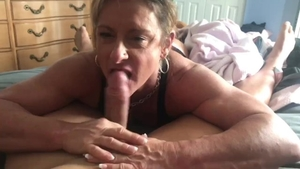 Raw sex starring muscle mature