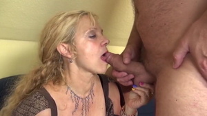 Cock sucking with whore