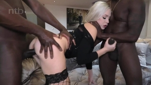 Plowing hard together with girl