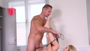 Hardcore bondage starring muscle german blonde haired