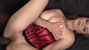Big boobs girl brutal squirts licking ass in HD