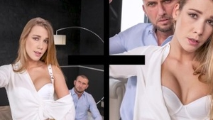 Tight czech babe Alexis Crystal deepthroat fucked in the ass