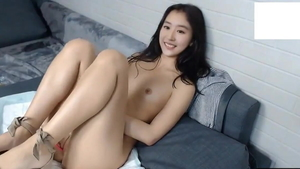 Hard slamming in company with small tits asian girl