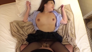 Busty dentist wearing pantyhose POV creampie