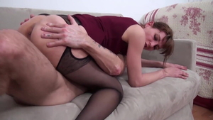 Nailing escorted by very nice french mature
