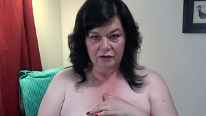 Huge tits cougar first time flirt on a ranch