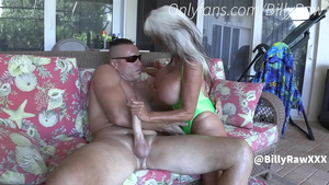 Big ass dirty supermodel taboo cumshot in the pool