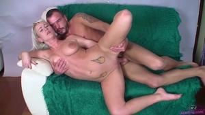 Czech blowjob cum at the castings
