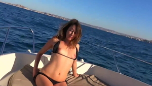 Puffy nipples french amateur desires POV cock sucking HD