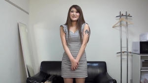 Threesome during interview asian