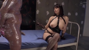 Big tits mature in stockings fetish femdom