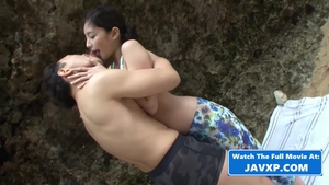 Small tits asian brunette censored fucked all the way in HD