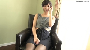 Got nailed with japanese female in tight stockings HD