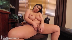 Young Lexxxi Lockhart helps with nailing