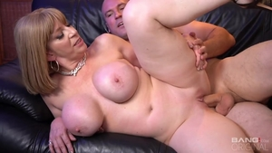 Blonde Sara Jay blowjob