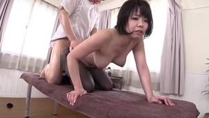 Amazing japanese censored foot fetish in HD