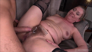 Real fucking between large tits MILF Brittany Elizabeth