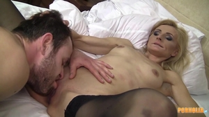 Petite blonde babe need gets good fuck