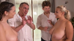 Sofia Lee and Michael Fly brutal orgasm