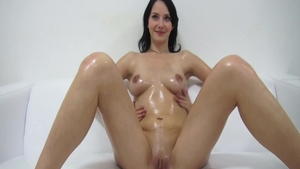 Sloppy fucking escorted by cute czech brunette