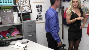 Plowing hard along with mature Brittany Andrews