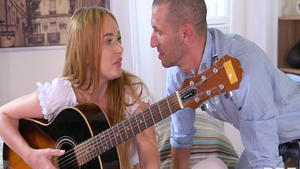 Real sex accompanied by young russian blonde babe Kaisa Nord