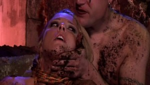 Bitch Ariana Jollee in fishnets pussy fucking