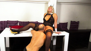 Thick german Tatjana Young in sexy stockings