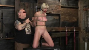 Rough roped among blonde haired Marie Mccray