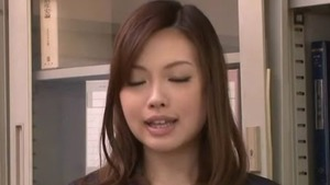 Japanese Aiko Hirose uncensored cock sucking
