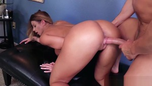 Rough slamming hard along with Brooklyn Chase